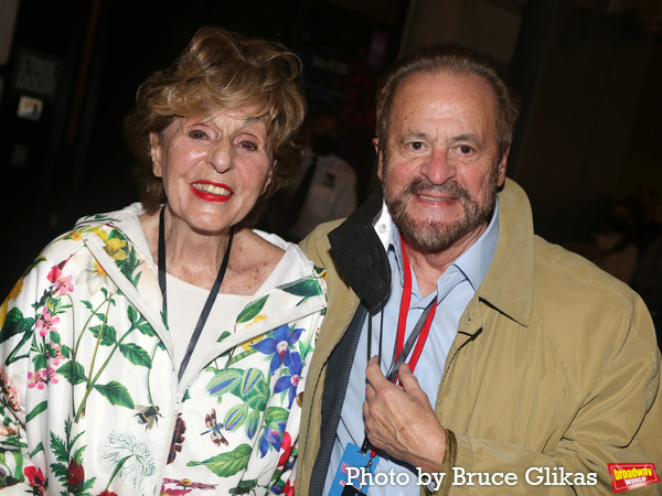 Producers Fran Weissler and Barry Weissler Photo