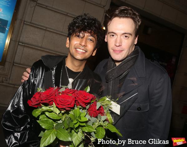 Nik Dodani and Erich Bergen Photo
