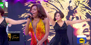 Nkeki Obi-Melekwe Performs TINA Medley on GMA Video