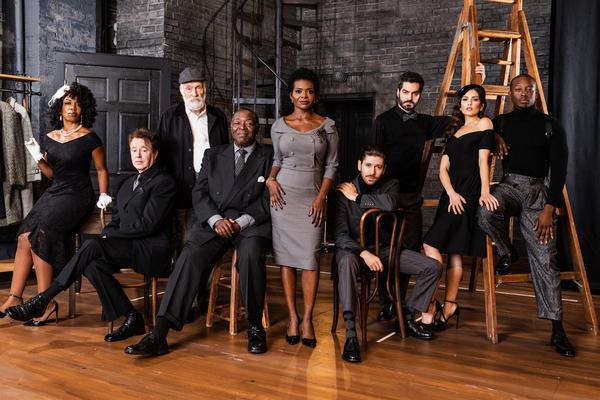Jessica Frances Dukes, Don Stephenson, Simon Jones, Chuck Cooper, LaChanze, Michael Z Photo