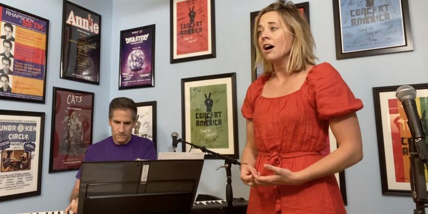 VIDEO: Erika Henningsen & Seth Rudetsky Sing 'Meadowlark' In Rehearsal For Tonight's Live Photo