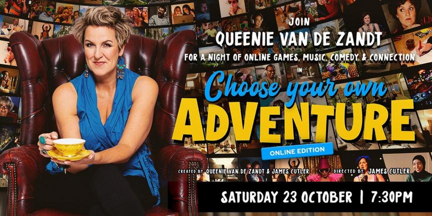 BWW REVIEW: Queenie van de Zandt's CHOOSE YOUR OWN ADVENTURE – ONLINE EDITION Delivers A T Photo