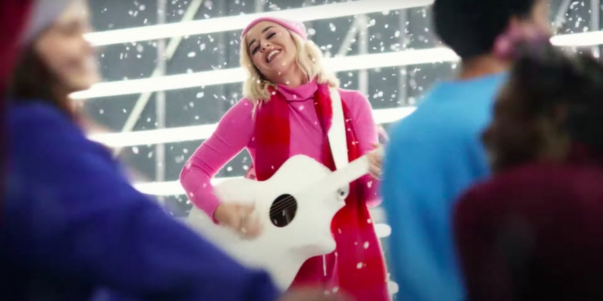 VIDEO: Katy Perry Re-Records 'All You Need is Love' for GAP Ad Photo
