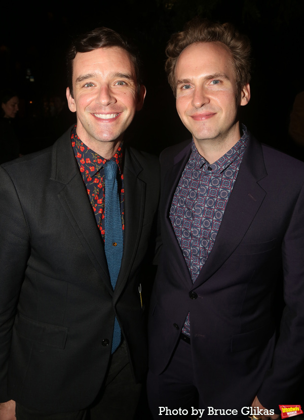 Michael Urie and Ryan Spahn Photo