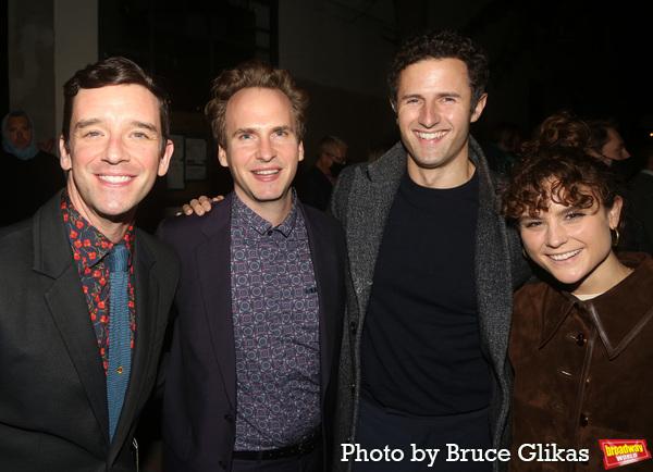 Michael Urie, Ryan Spahn, Roe Hartrampf and Melanie Moore  Photo