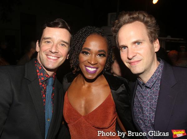 Michael Urie, Kristolyn Lloyd and Ryan Spahn Photo
