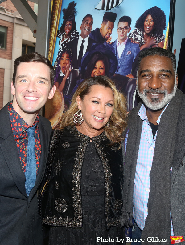 Michael Urie, Vanessa Williams and Norm Lewis  Photo