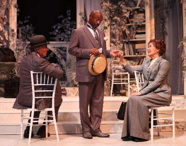 Robert Cuccioli, Alvin Keith and Karen Ziemba Photo