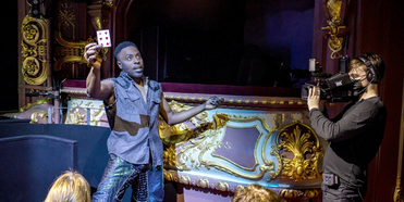 Photos: First Look at MAGIC GOES WRONG, Now Playing at the Apollo Theatre Photo