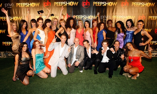 Photo Flash: Las Vegas PEEP SHOW Opens at Planet Hollywood!