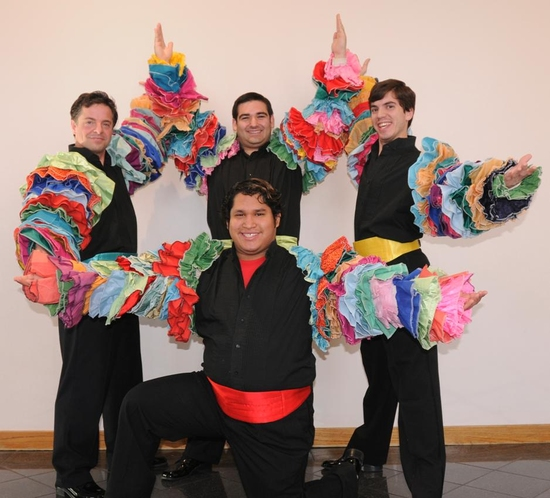 Photo Flash: FOUR GUYS NAMED JOSE Comes To The Grade Theatre 5/6 - 5/16