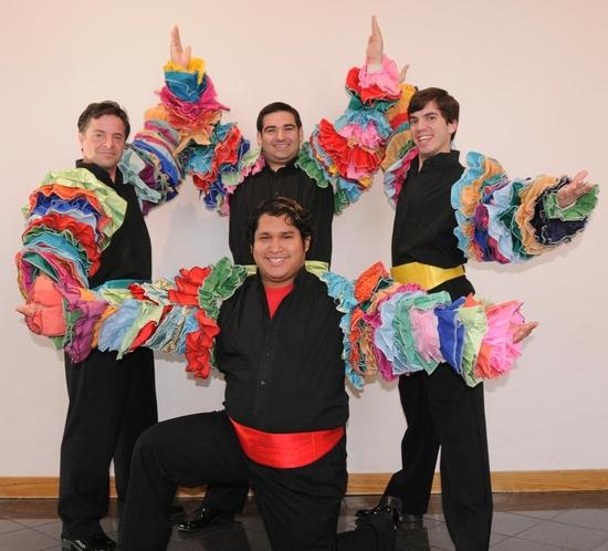 Dan Larrinaga, Ricardo Ramirez (kneeling), J.D. Dumas, & Mike Hernandez