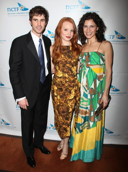 Matt Cavenaugh, Lauren Ambrose and Jenny Powers