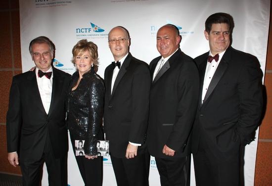 John Breglio, Jane Fonda, Bruce Whitacre, Ed Cassidy and James S. Turley
