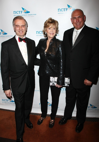 John Breglio, Jane Fonda and Ed Cassidy