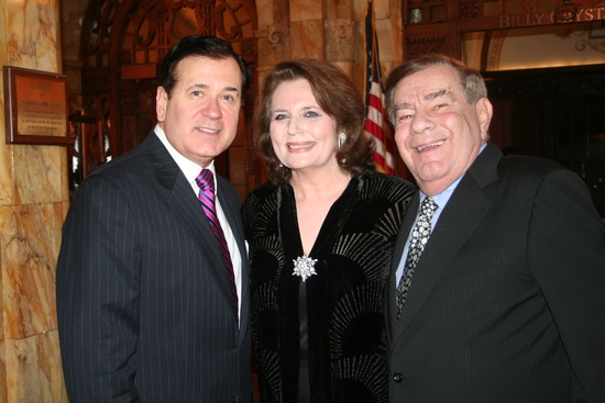 Lee Roy Reams, Producer Randie Levine-Miller and Master of Ceremonies Dean Freddie Roman