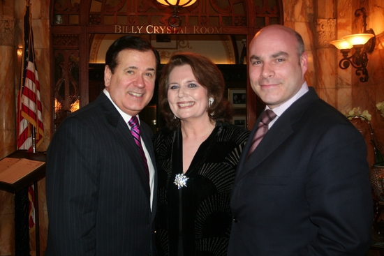 Lee Roy Reams, Randie Levine-Miller and Executive Director Michael Gyure