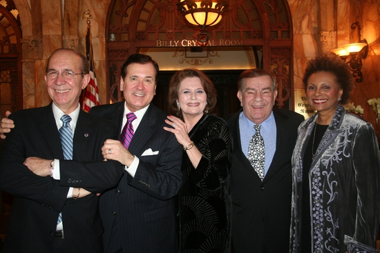 Frank Capitelli, Lee Roy Reams, Randie Levine-Miller, Freddie Roman and Leslie Uggams Photo
