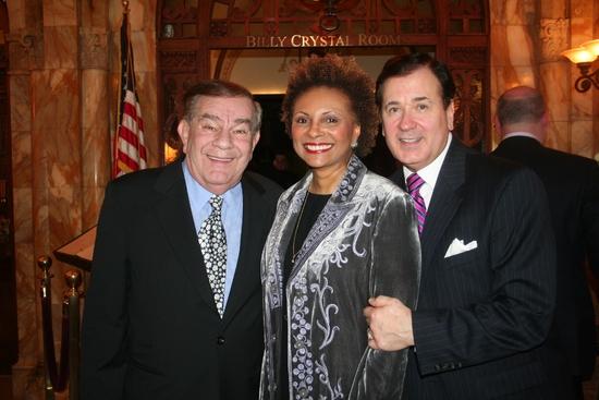 Freddie Roman, Leslie Uggams and Lee Roy Reams Photo