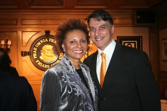 Leslie Uggams and Robert Cuccioli Photo