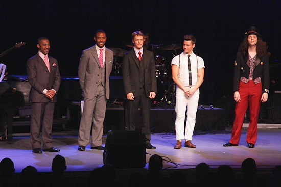 Tony James, James Brown III, David Larson, Adam Fleming and Anthony Hollock