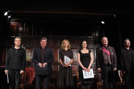 Mark Waldrop, Gary Beach, Amanda Green, Marla Schaffel, Simon Jones and Jay Rogers