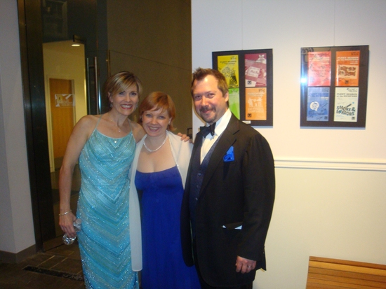 Elizabeth Southard, Jennifer Montague, and Mark Montague Photo