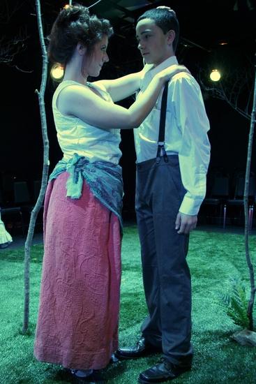 Ruby Fox and Carlos Rojas