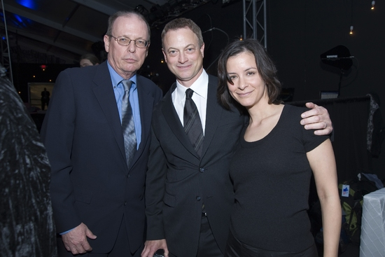 David Hawkanson, Gary Sinise and Anna D. Shapiro