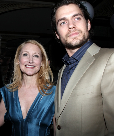 Patricia Clarkson and Henry Cavill