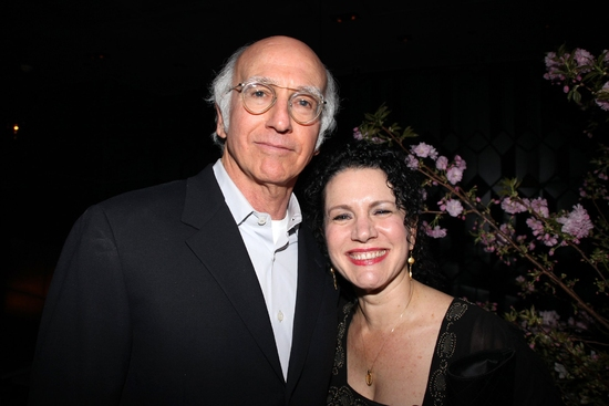 Larry David and Susie Essman