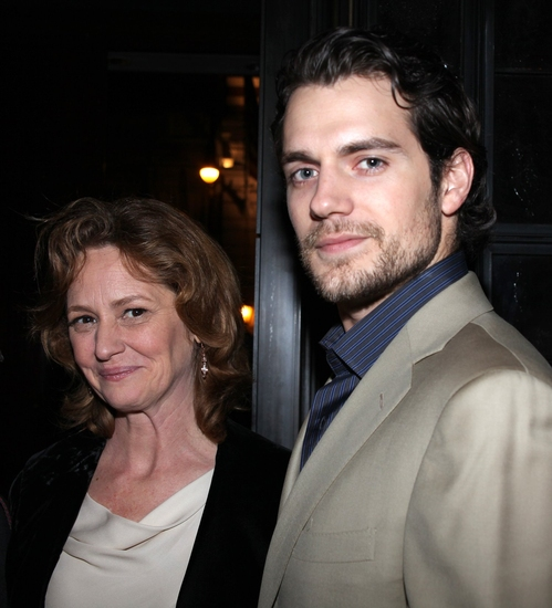 Melissa Leo and Henry Cavill
