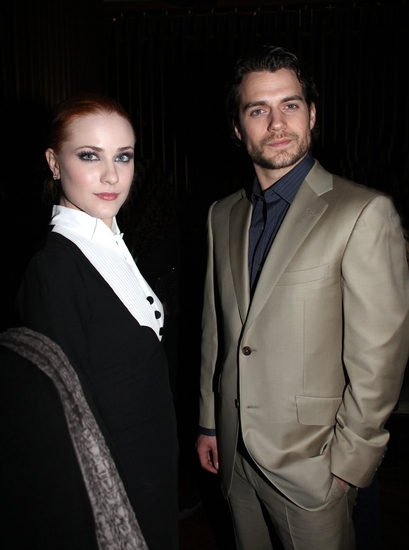 Evan Rachel Wood and Henry Cavill