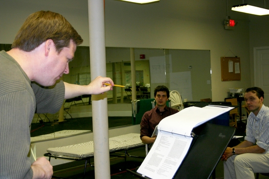 Director Weylin Symes, Robert Serrell and Jonathan Popp