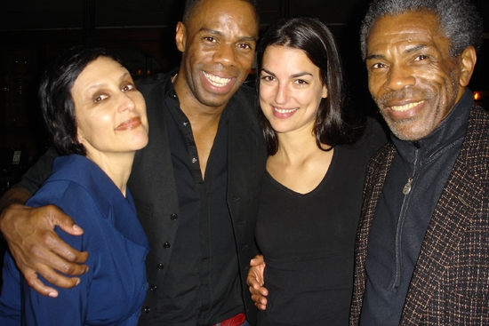 Lisa Ramirez, Colman Domingo, Laura Carbonell Smith, and Andre De Shields