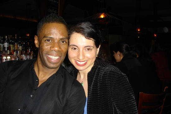 Colman Domingo and Betty Shamieh