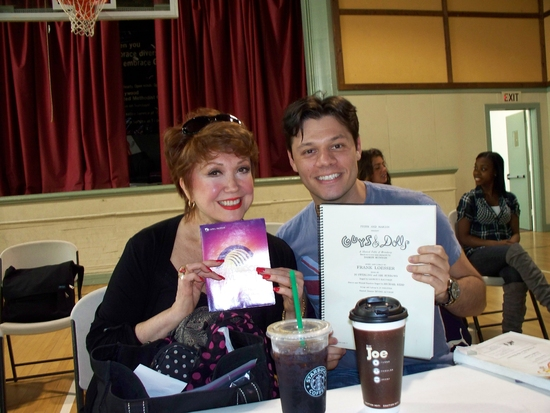 Photo Flash: Behind the Scenes of 'Guys and Dolls' in Concert at the Hollywood Bowl