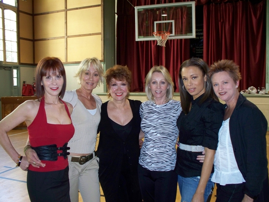 Ellen Greene, Sandahl Bergman, Donna McKechnie, Kathryn Wright, Valarie Pettiford and Jane Lanier
