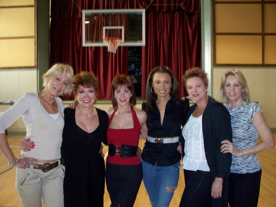 Sandahl Bergman, Donna McKechnie, Ellen Greene, Valarie Pettiford, Jane Lanier and Kathryn Wright
