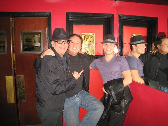 Richard Jay-Alexander, Kevin Stites and James Kinney at Behind the Scenes of 'Guys and Dolls' in Concert at the Hollywood Bowl
