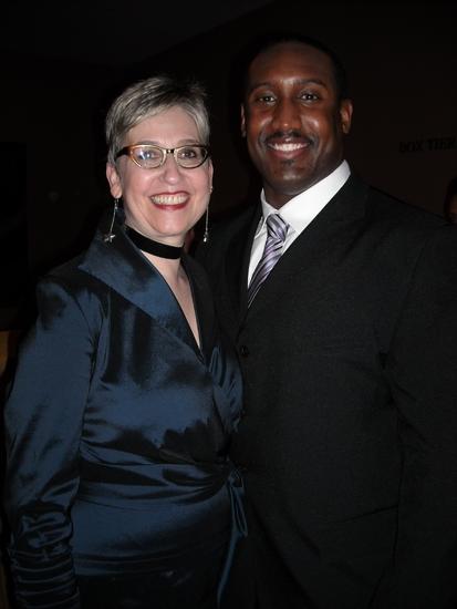 Marcia Milgrom Dodge and Quentin Earl Darrington Photo