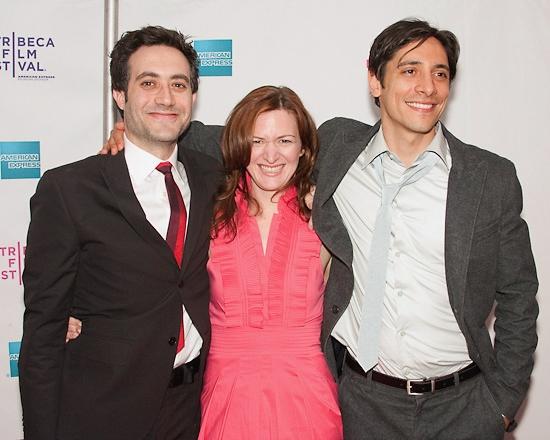 Randy Baruh, Lennon Parham, and Ariel Shafir