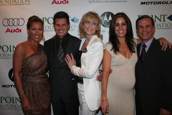 Vanessa Williams, Silvio Horta, Judith Light, Ana Ortiz and Tony Palan
