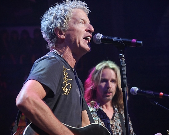 Kevin Cronin and Tommy Shaw