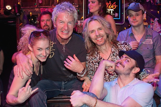 Lauren Molina, Kevin Cronin, Tommy Shaw, and Mitchell Jarvis