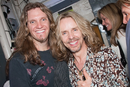 Joel Hoekstra and Tommy Shaw