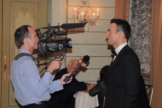 James Sims of Broadwayworld TV interviews Cheyenne Jackson