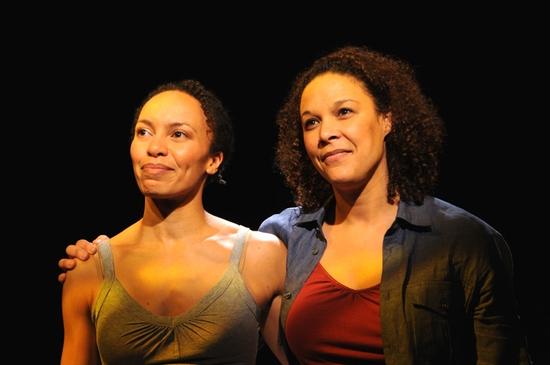 Eisa Davis and Linda Powell