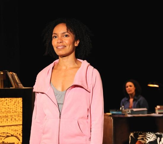 Eisa Davis, and in background Linda Powell