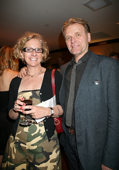David Rasche and Heather Lupton